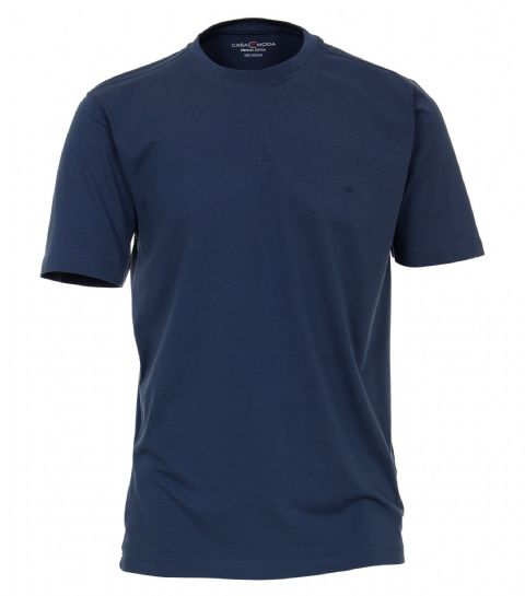 CASAMODA  Blue T Shirt 100% Cotton